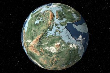 outil aspect terre differentes periodes trias