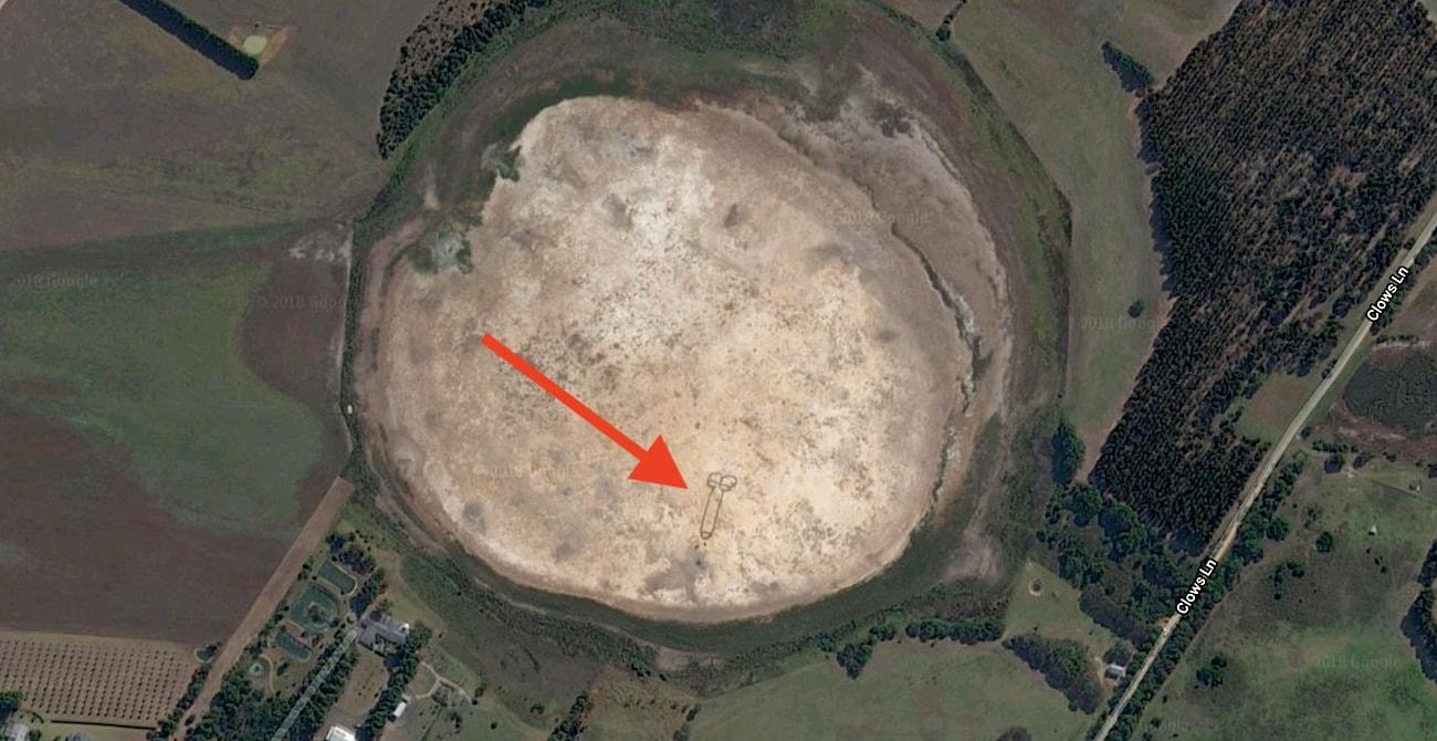 penis geant google earth australie