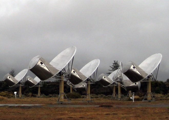 radiotelescopes seti