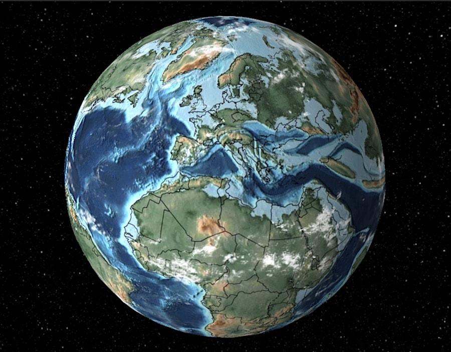 terre cretace extinction dinosaures
