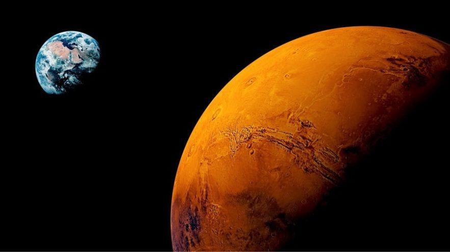 terre mars