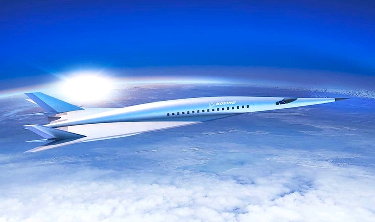 boeing prototype avion supersonique 2018