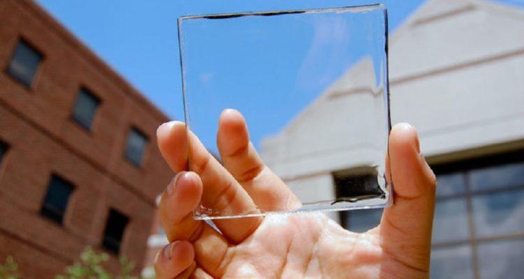 cellule solaire transparente