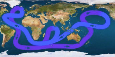circulation atlantique ocean eau rechauffement climatique climat environnement planete