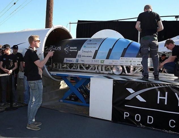 hyperloop competition capsule