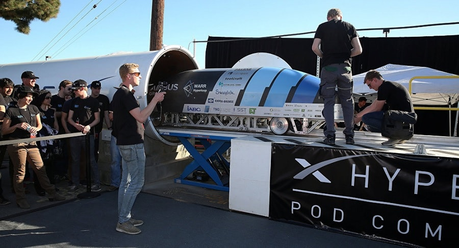 hyperloop competition capsule