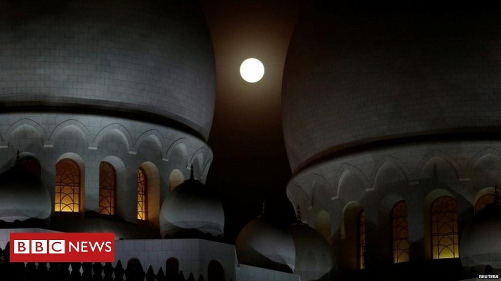 lune eclipse lunaire turquie