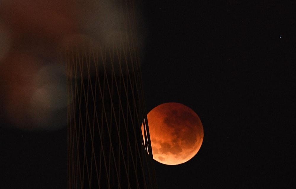 lune rousse eclipse lunaire
