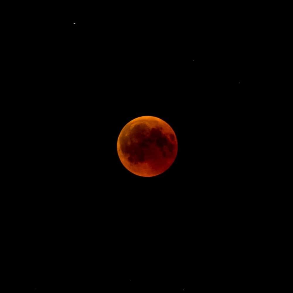 lune eclipse lunaire israel