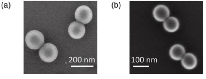 nanoparticule silice laser vide
