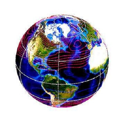 cycle amplitude temperatures troposphere