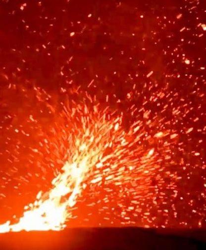 tornade volcanique kilauea lavanade