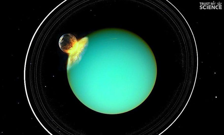 uranus collision planete mysterieuse changement