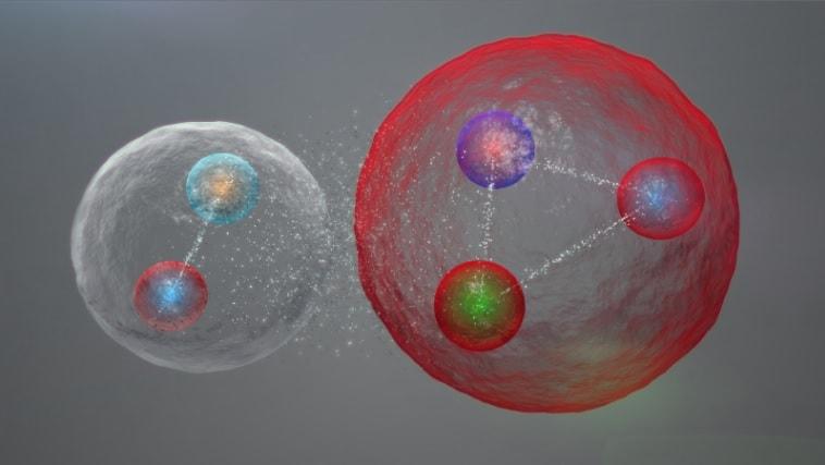 hadrons baryons mesons quarks