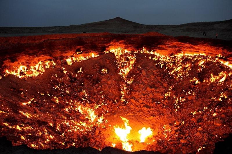 cratere darvaza feu eternel
