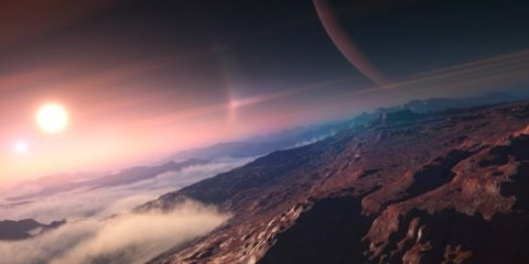 exoplanete apparition vie