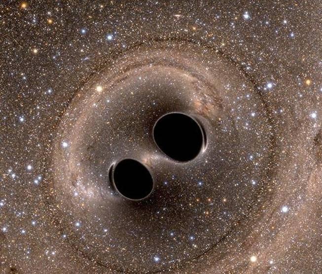 formation fusion trous noirs