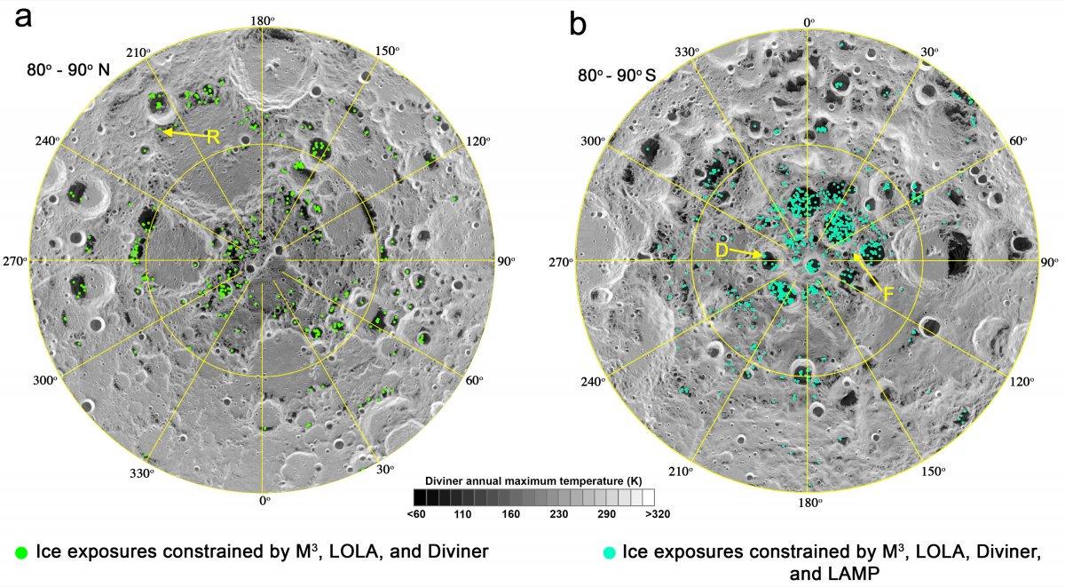 lune glace eau piege froid nasa exploration spatiale