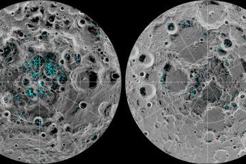 nasa eau glace gel lune surface
