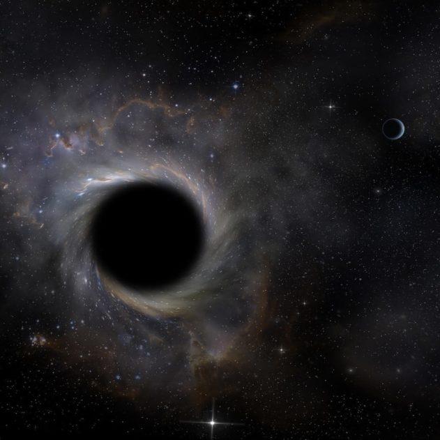 trou noir definition