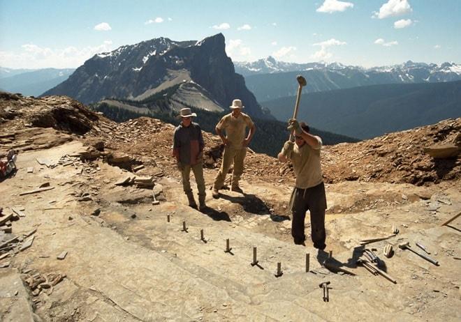 fouilles archéologiques walcott burgess