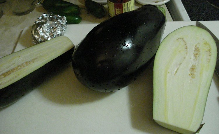 Aubergine moderne
