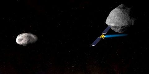 NASA vaisseau spatial DART mission asteroides protection planete