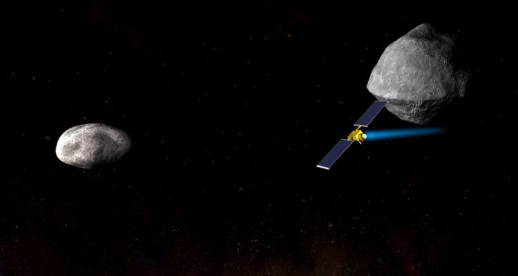 NASA vaisseau spatial DART mission asteroides protection planete
