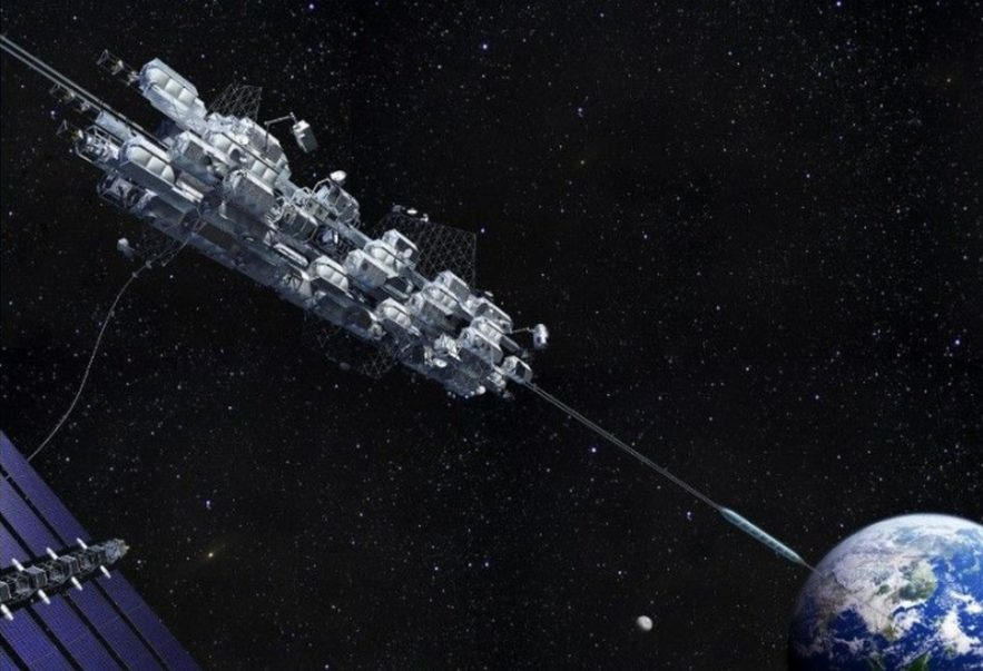 ascenseur spatial espace japonais