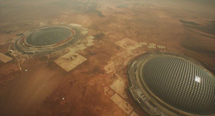 concept colonie mars