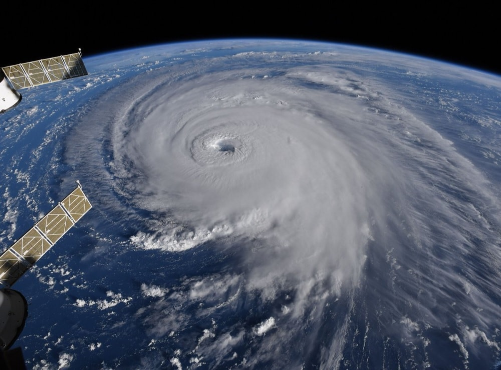 ouragan florence iss