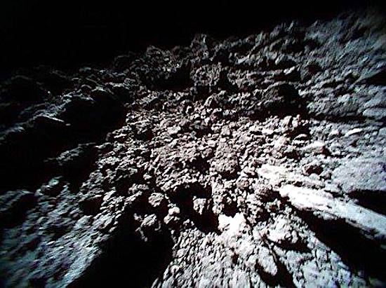 hayabusa ryugu asteroide photo image