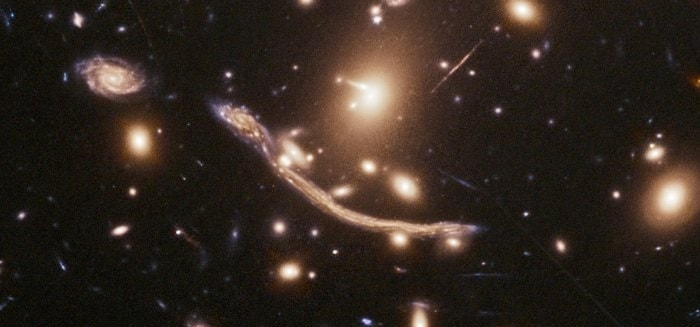 abell 370 galaxies matiere noire