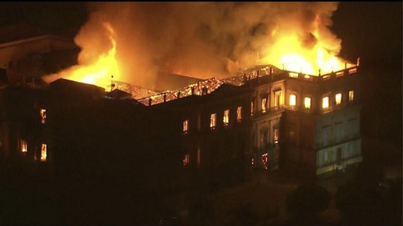 musee bresil incendie