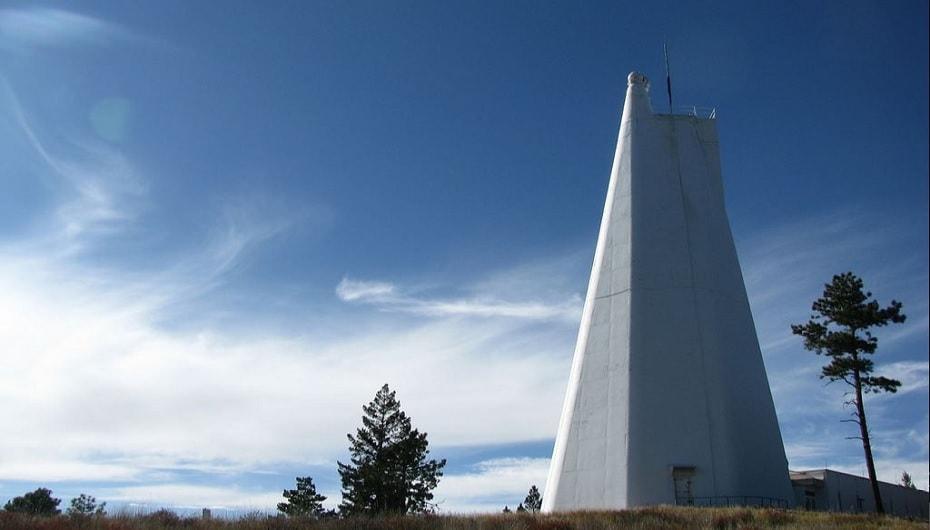observatoire solaire sunspot fbi