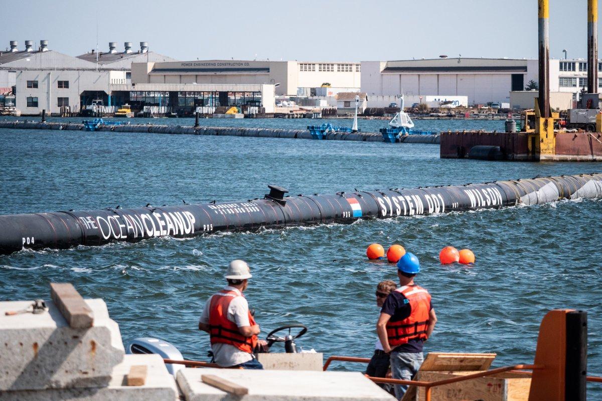 ocean cleanup nettoyage dechets vortex pacifique