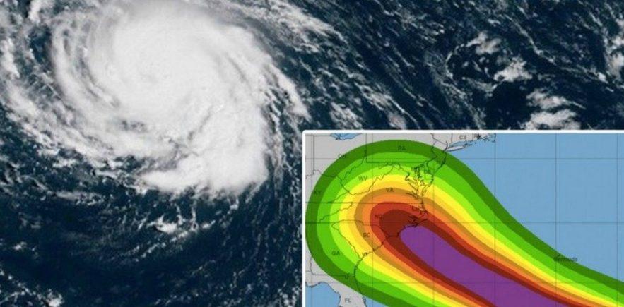 ouragan florence atlantique tempete
