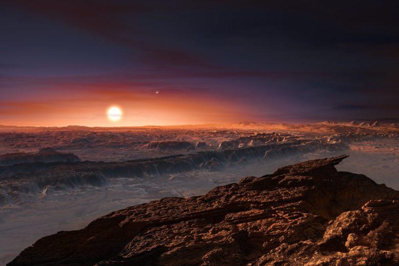 proxima b centaure etoile exoplanete naine rouge planete