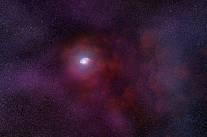pulsar infrarouge étoile neutrons