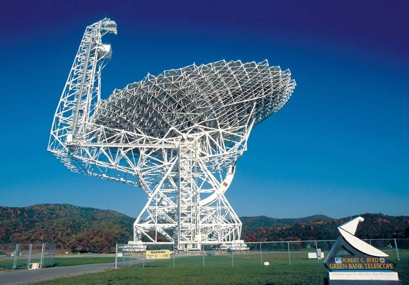 radiotlescope green bank