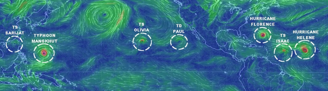 tempete ouragan cyclone rechauffement climatique climat