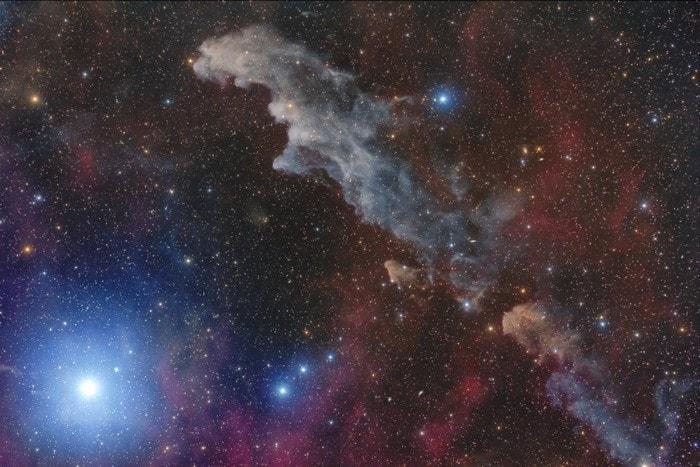 nebuleuse tete sorciere rigel etoile brillante galaxie