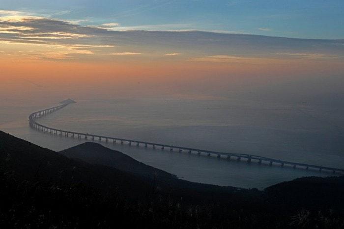 chine pont maritime