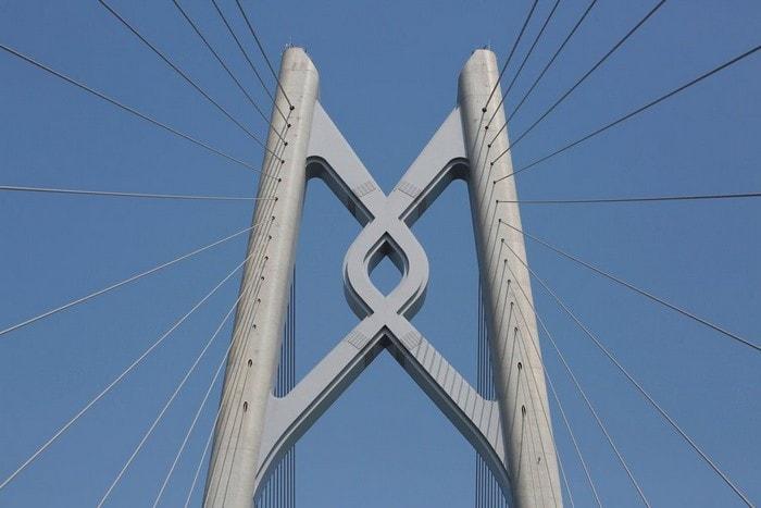 chine pont maritime dauphin chine mer