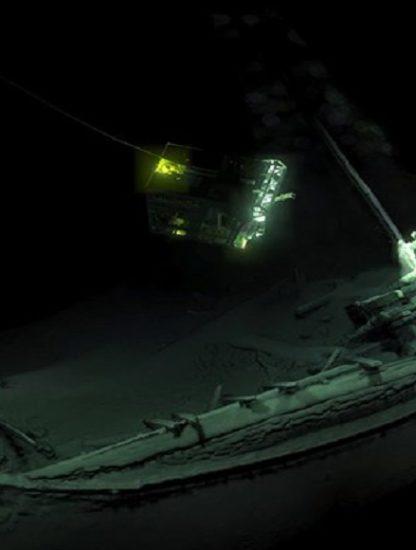 epave navire mer noire