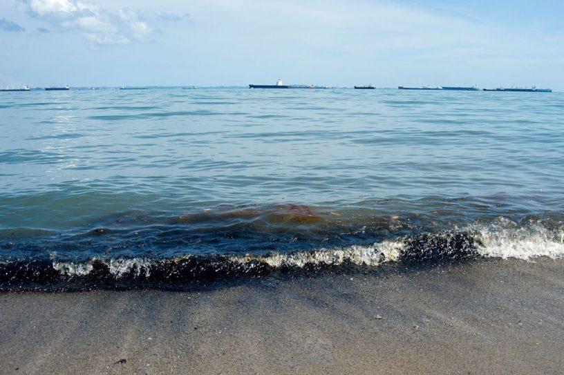fuite petrole ocean taylor