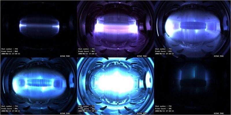 fusion nucleaire plasma champ magnetique