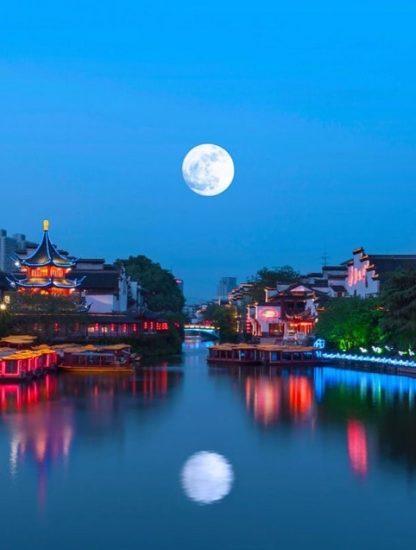 lune artificielle chine