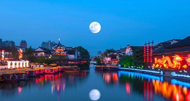 lune artificielle chine