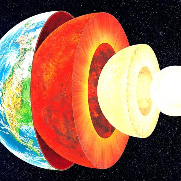 noyau terrestre solide selon étude
